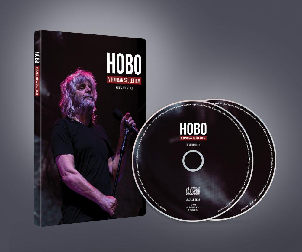 Hobo: Viharban születtem könyv+2CD