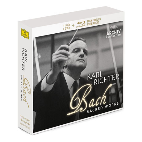 Karl Richter: Bach Sacred Works 11 CD+4 DVD Box