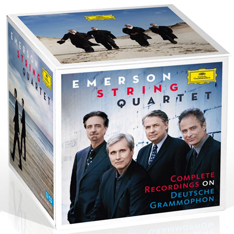Emerson String Quartet: Complete Recordings 52 CD BOX