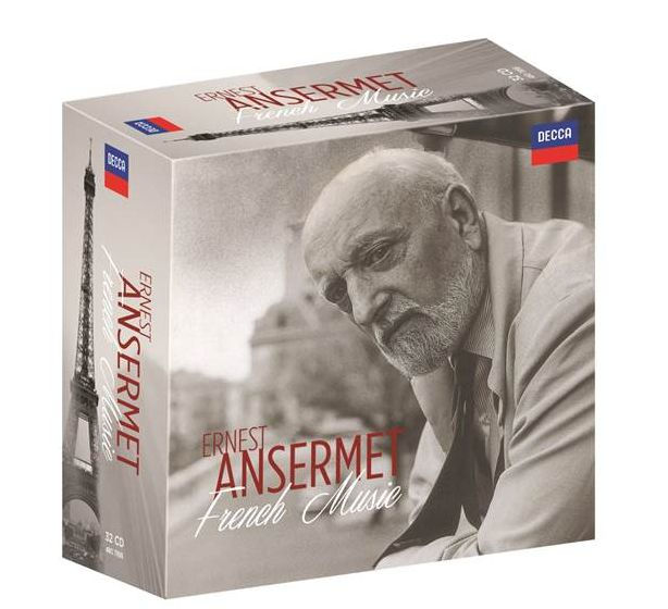 Ernest Ansermet: French Music 32 CD