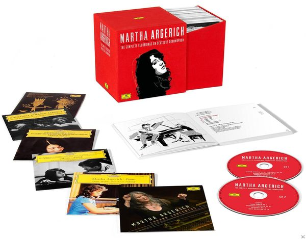 Martha Argerich: The Complete Recordings 48 CD Box