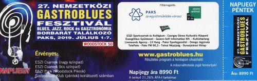 27. Gastroblues Jegy Péntek