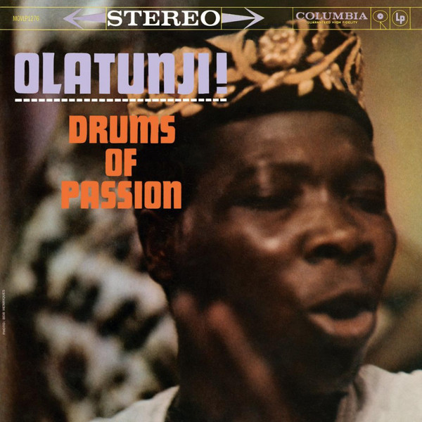 Olatunji, Babatunde: Drums Of Passion LP