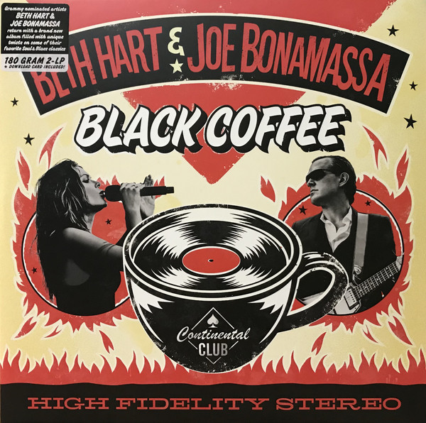Bonamassa, Joe-Hart,Beth: Black Coffee 2 LP