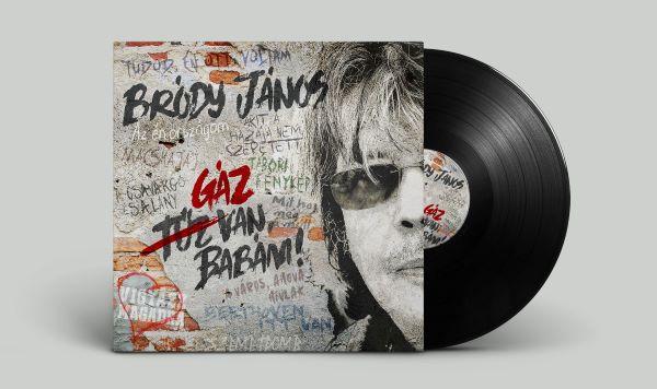 Bródy János: Gáz van babám LP
