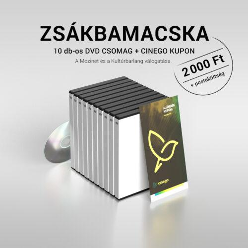 Zsákbamacska 10 DVD csomag 2.