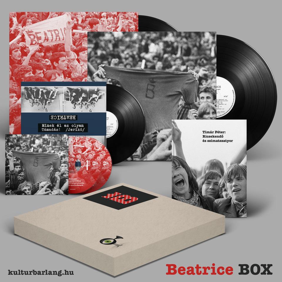 BEATRICE BOX 2LP+2CD+1SP+Könyv